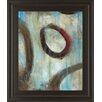 Classy Art Wholesalers Greyson Loops I by Wani Pasion Framed Painting Print