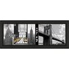 Classy Art Wholesalers A Glimpse of Ny by Jeff Maihara Framed Photographic Print