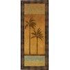 Classy Art Wholesalers Golden Palm II by Jordan Grey Framed Painting Print