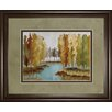 Classy Art Wholesalers Lake View by Jacqueline Ellens Framed Painting Print