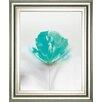 Classy Art Wholesalers Aqua Sorbet 1 by Jane Prior Framed Painting Print