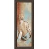 Classy Art Wholesalers Seated Woman Panel I by Lannie Loreth Framed Painting Print