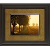 Classy Art Wholesalers Misty Morning Reflection by Lars Van De Goor and Mossy Oak Nativ Living Framed Photographic Print