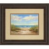 Classy Art Wholesalers Serenity I by Karen Marguliss Framed Painting Print