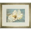 Classy Art Wholesalers White Peony by Patricia Pinto Framed Graphic Art