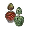 Dale Tiffany 2-Piece Swirl Perfume Bottle