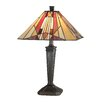 """Dale Tiffany Frediano 22"""" H Table Lamp with Empire Shade"""