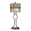 """Dale Tiffany Lifestyles Haskey 31"""" H Table Lamp with Drum Shade"""