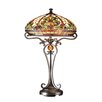 "Dale Tiffany Boehme 28"" H Table Lamp with Bowl Shade"