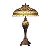 "Dale Tiffany Hamburg 25.25"" H Table Lamp with Bowl Shade"