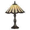 "Dale Tiffany Ripley 14"" H Table Lamp with Empire Shade"