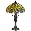 """Dale Tiffany Valencia 23"""" H Table Lamp with Bowl Shade"""