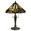 "Dale Tiffany Sawyer 23"" H Table Lamp with Empire Shade"