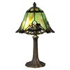 """Dale Tiffany Haiawa 16"""" H Table Lamp with Bell Shade"""