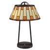 "Dale Tiffany Wedgewood 21"" H Table Lamp with Empire Shade"