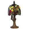 Dale Tiffany Grape Vine 12.25 Table Lamp with Bowl Shade