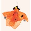 Worth Imports Hanging Decorated Gossamer Ghost With Cans Halloween Decoration