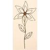 Worth Imports Metal Flower Garden Stick