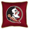 Sports Coverage Inc. NCAA Florida State Sidelines Throw Pillow