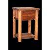 Utah Mountain Barnwood 1 Drawer Nightstand