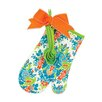 Brownlow Gifts 2 Piece Delightful Damask Oven Mitt Set