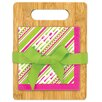 Brownlow Gifts 21 Piece Bon Appetit Cutting Board with Napkins Gift Set