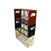 American Mercantile Metal 3 Box Wine Rack
