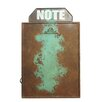 American Mercantile Metal Magnetic Wall Mounted Bulletin Board