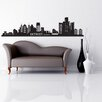 Style and Apply Detroit Skyline Wall Decal