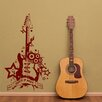 Style and Apply Rock 'n' Roll Guitar Wall Decal