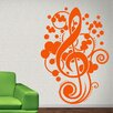 Style and Apply Clef Music Wall Decal
