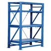 "Vestil Heavy Duty Roll-Out 80"" H Three Shelf Shelving Unit"