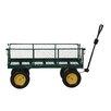 Vestil 1 K lbs Fold Down Side Landscape Cart