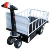 Vestil Top Load Traction Drive Cart with Gate