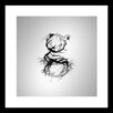 Curioos Breaking Typo 2 by Chaparro Design Framed Painting Print