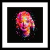 Curioos Marilyn Rework by Alessandro Pautasso Framed Graphic Art