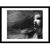 Curioos I Made Myself Invisible by Federico Bebber Framed Graphic Art
