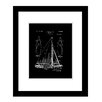 Prestige Art Studios Sailboat Framed Graphic Art
