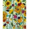 Prestige Art Studios Sunflower House Painting Print