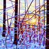 Prestige Art Studios Sunrise Painting Print
