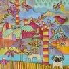 Prestige Art Studios Owl Cat Dog 1 Painting Print