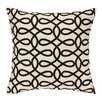 Cococozy Cococozy Lyrical Embroidered Throw Pillow