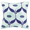 Elizabeth Olwen Elizabeth Olwen Full Bloom Embroidered Throw Pillow