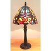"Fine Art Lighting Tiffany 15"" H Table Lamp with Novelty Shade"