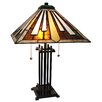 "Fine Art Lighting Tiffany 23"" H Table Lamp with Empire Shade"