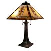 "Fine Art Lighting Tiffany 25"" H Table Lamp with Empire Shade"