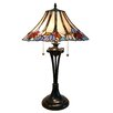 """Fine Art Lighting Tiffany 26"""" H Table Lamp with Bell Shade"""