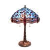 "Fine Art Lighting Tiffany 23"" H Table Lamp with Bowl Shade"