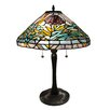 "Fine Art Lighting Tiffany-style 22""H  Table Lamp"