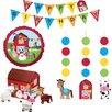 Creative Converting Farmhouse Fun Party Decor Kit